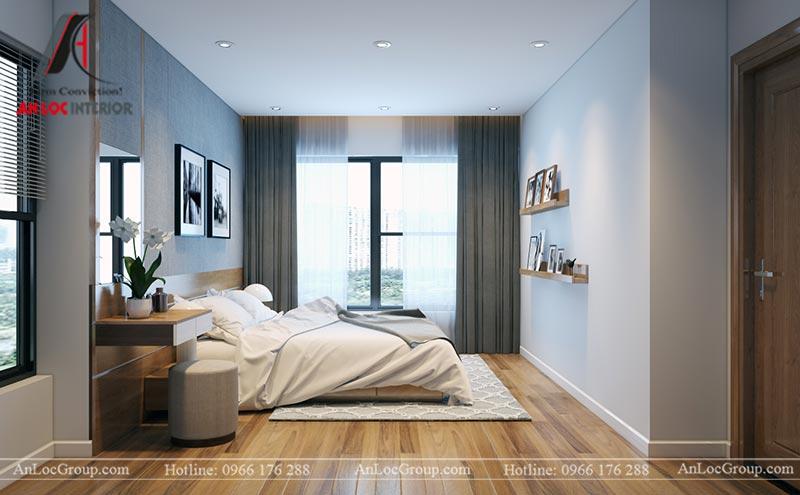 Nội thất chung cư 86m2 tại Vinata Tower - Ảnh 18