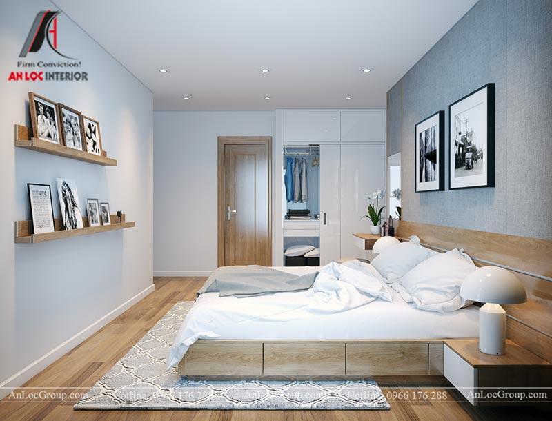 Nội thất chung cư 86m2 tại Vinata Tower - Ảnh 19