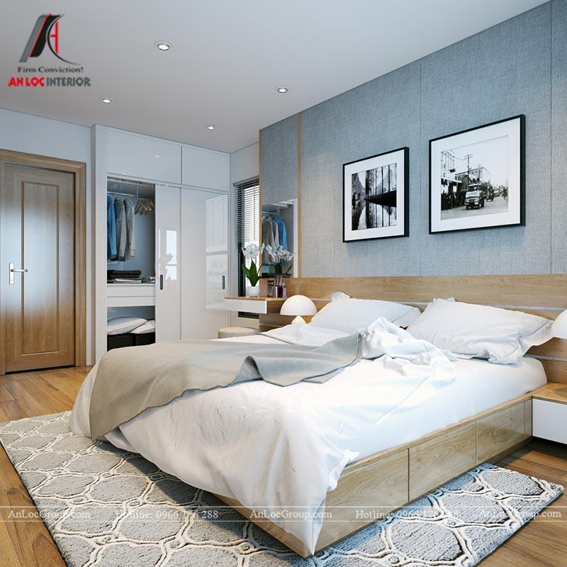 Nội thất chung cư 86m2 tại Vinata Tower - Ảnh 22