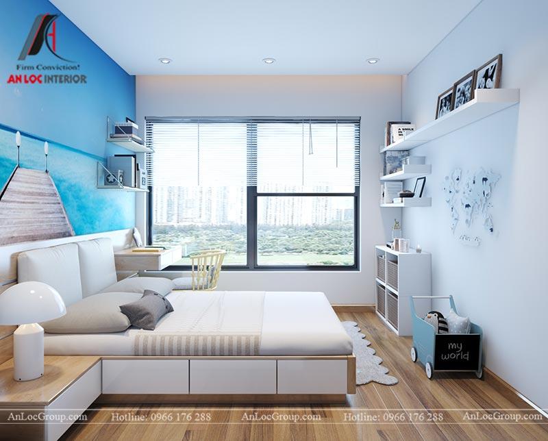 Nội thất chung cư 86m2 tại Vinata Tower - Ảnh 24