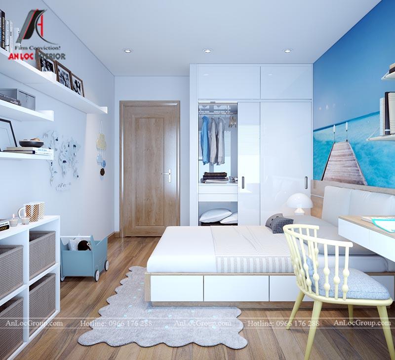 Nội thất chung cư 86m2 tại Vinata Tower - Ảnh 25