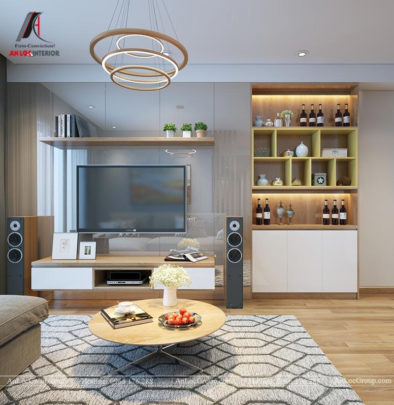 Nội thất chung cư 86m2 tại Vinata Tower - Ảnh 3