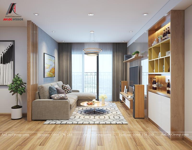 Nội thất chung cư 86m2 tại Vinata Tower - Ảnh 4
