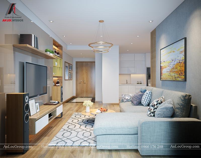 Nội thất chung cư 86m2 tại Vinata Tower - Ảnh 5