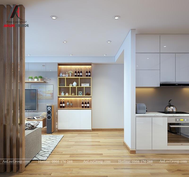 Nội thất chung cư 86m2 tại Vinata Tower - Ảnh 8