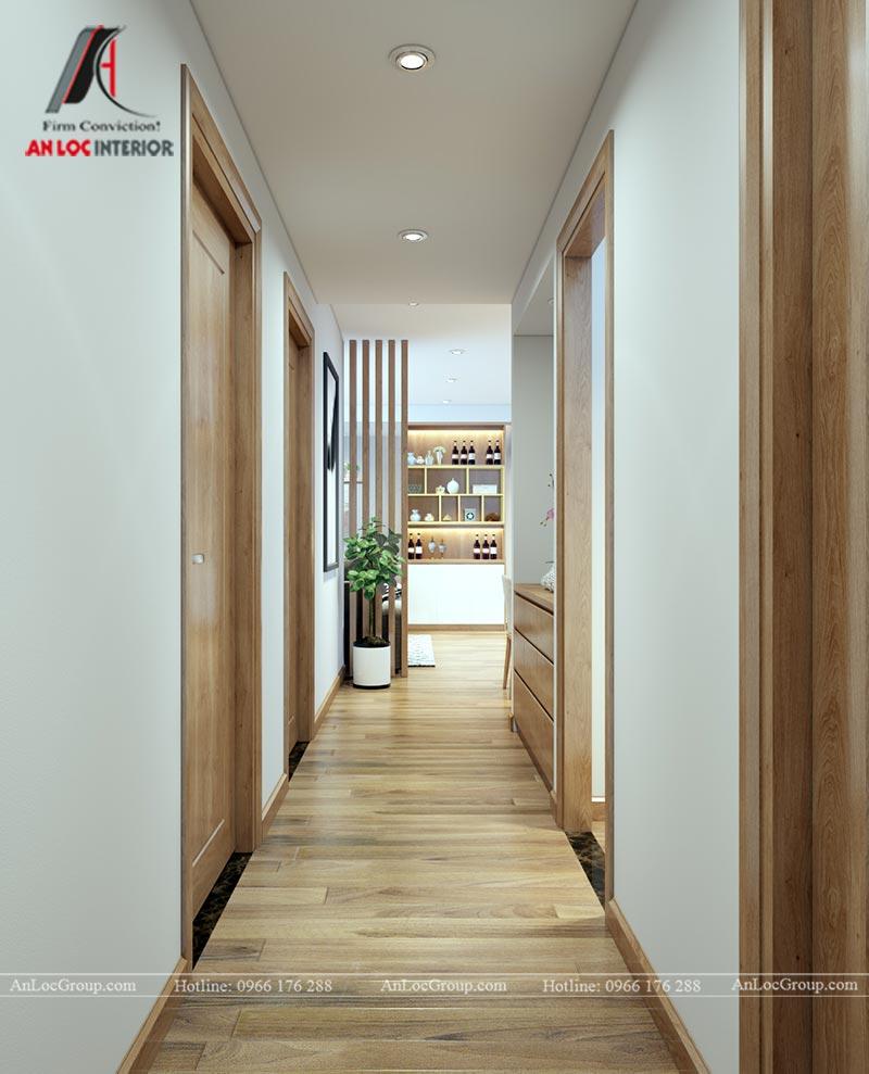 Nội thất chung cư 86m2 tại Vinata Tower - Ảnh 9