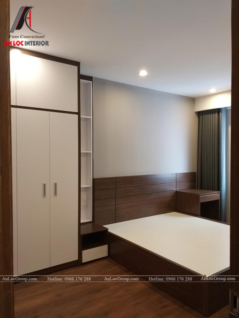 Hình ảnh thực tế căn hộ 2 phòng ngủ tại FLC Đại Mỗ
