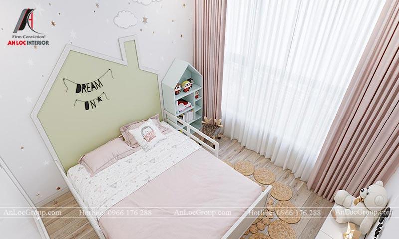 Mẫu nội thất chung cư Vinhomes Cầu Diễn diện tích 100m2 - Hình 15