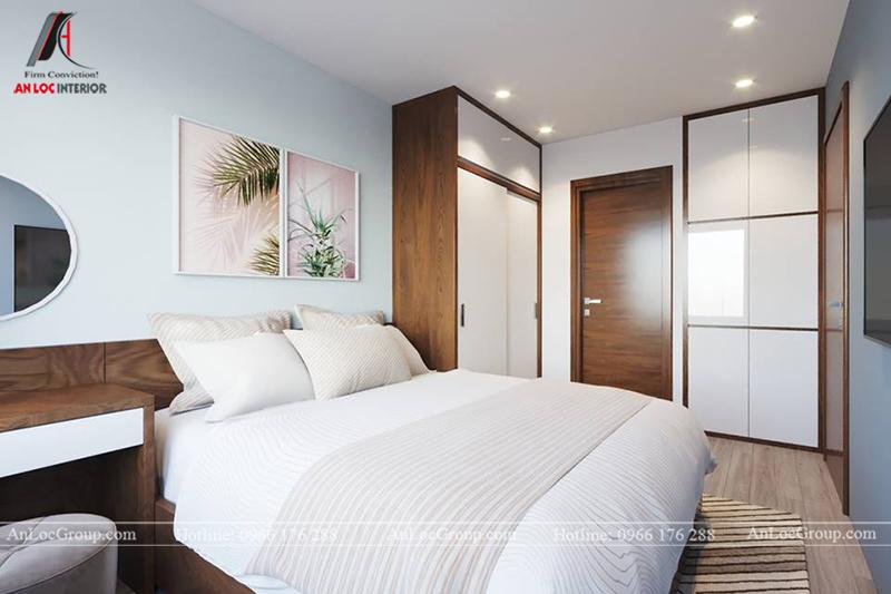 Thiết kế phòng khách chung cư 117m2 tại Sun Square - Ảnh 11