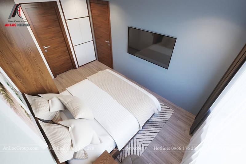Thiết kế phòng khách chung cư 117m2 tại Sun Square - Ảnh 12