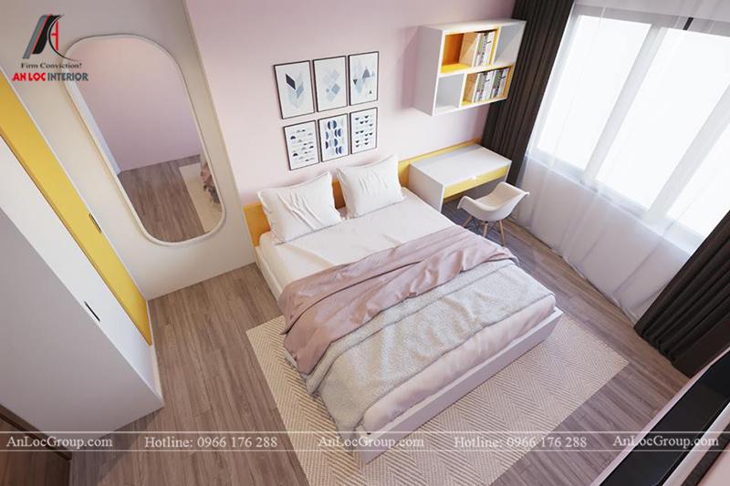 Thiết kế phòng khách chung cư 117m2 tại Sun Square - Ảnh 14
