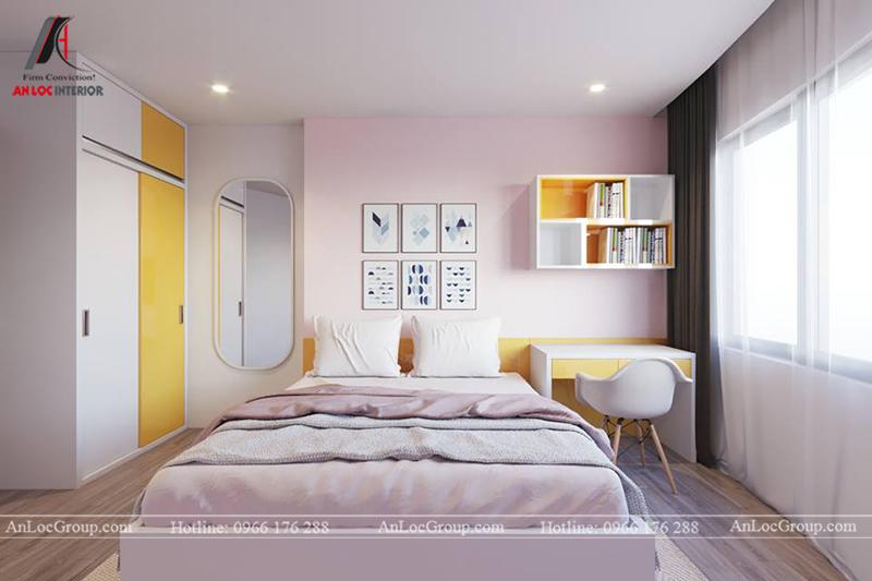 Thiết kế phòng khách chung cư 117m2 tại Sun Square - Ảnh 15