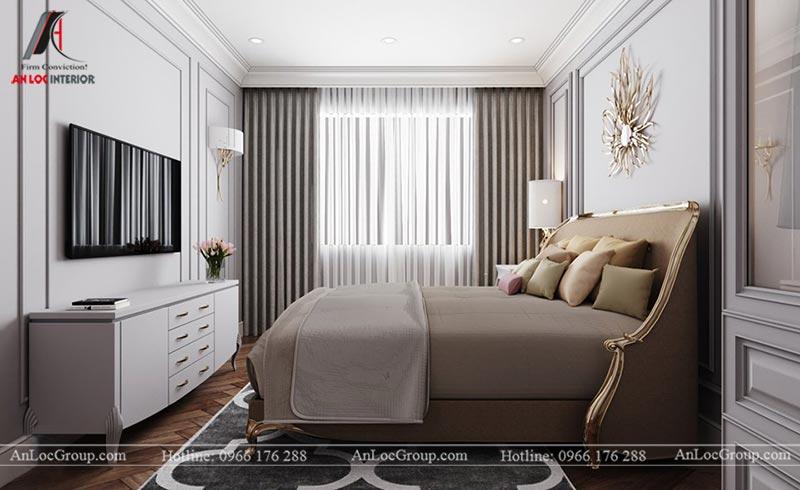 Thiết kế nội thất chung cư 115m2 tại Hinode City Plaza - Ảnh 10