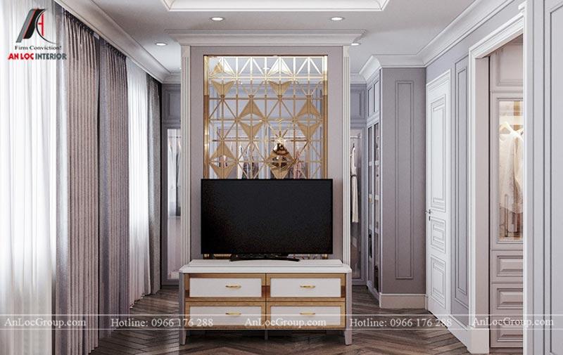 Thiết kế nội thất chung cư 115m2 tại Hinode City Plaza - Ảnh 6