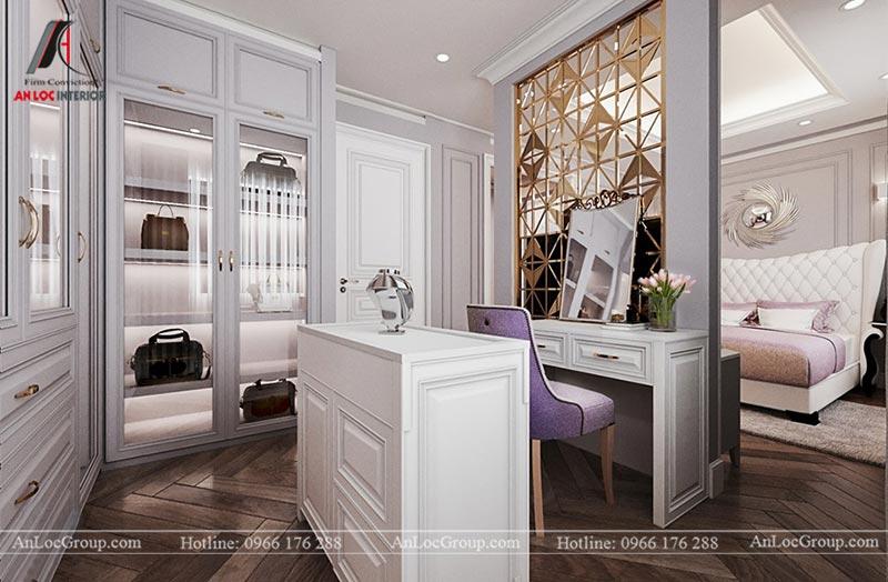 Thiết kế nội thất chung cư 115m2 tại Hinode City Plaza - Ảnh 7