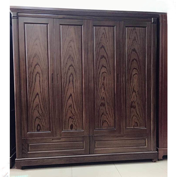 Tủ quần áo gỗ mun