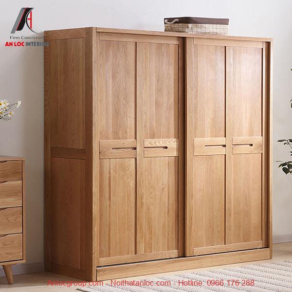Tủ gỗ sồi
