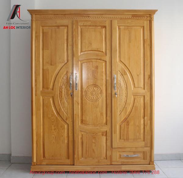 Mẫu 9 - Tủ gỗ thông cũng có tính thẩm mỹ rất cao