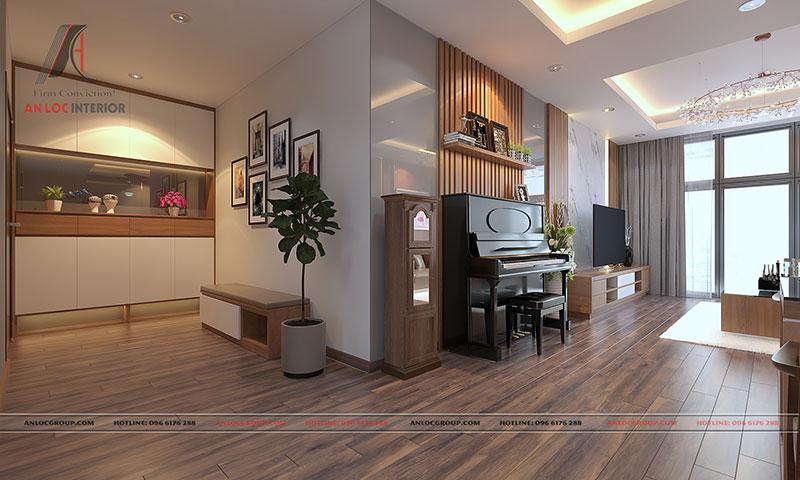 Nội thất căn hộ cao cấp Discovery Complex 150m2 - Ảnh 1