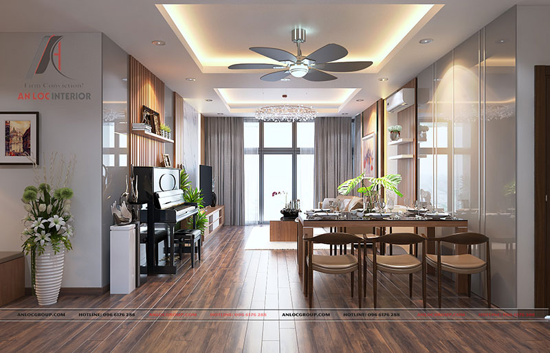 Nội thất căn hộ cao cấp Discovery Complex 150m2 - Ảnh 2