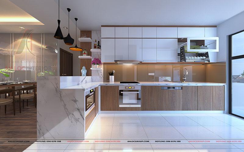 Nội thất căn hộ cao cấp Discovery Complex 150m2 - Ảnh 7