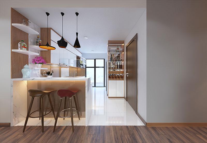 Nội thất căn hộ cao cấp Discovery Complex 150m2 - Ảnh 8