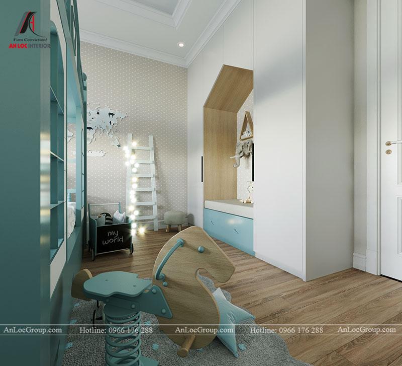 Nội thất chung cư tân cổ điển 110m2 tại Amber Riverside - Ảnh 13