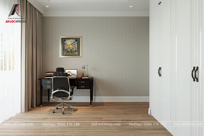 Nội thất chung cư tân cổ điển 110m2 tại Amber Riverside - Ảnh 7