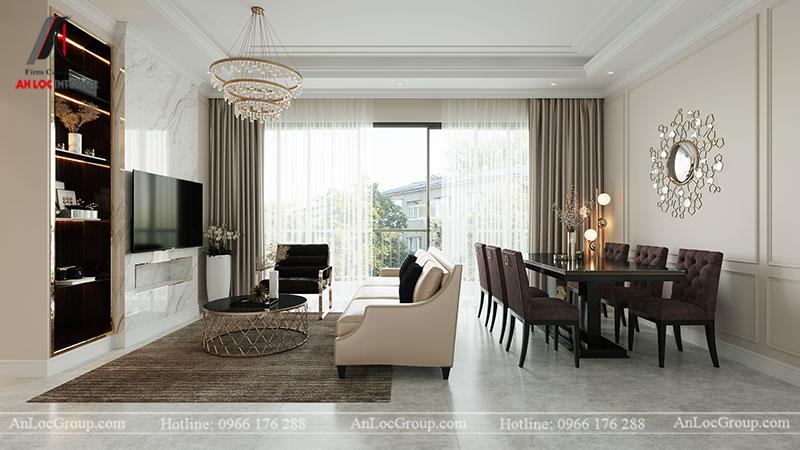Thiết kế chung cư hiện đại 68m2 tại Madarin Garden 2 Tân Mai - Ảnh 1