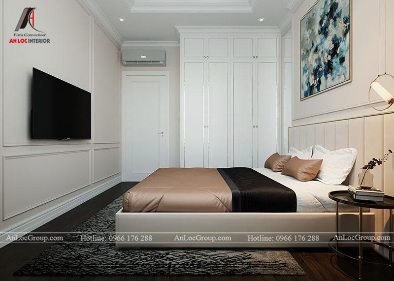 Thiết kế chung cư hiện đại 68m2 tại Madarin Garden 2 Tân Mai - Ảnh 10