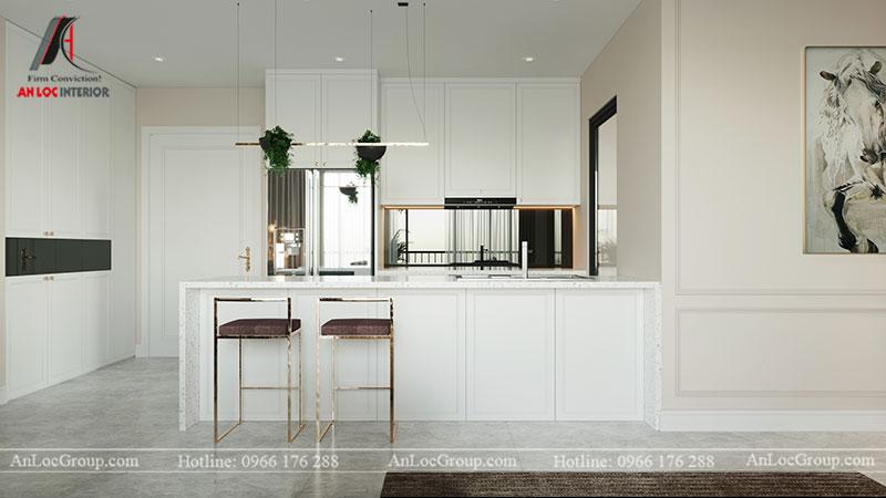 Thiết kế chung cư hiện đại 68m2 tại Madarin Garden 2 Tân Mai - Ảnh 3