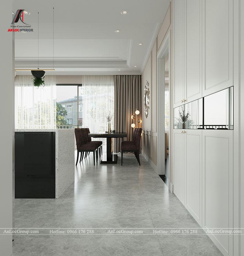 Thiết kế chung cư hiện đại 68m2 tại Madarin Garden 2 Tân Mai - Ảnh 4