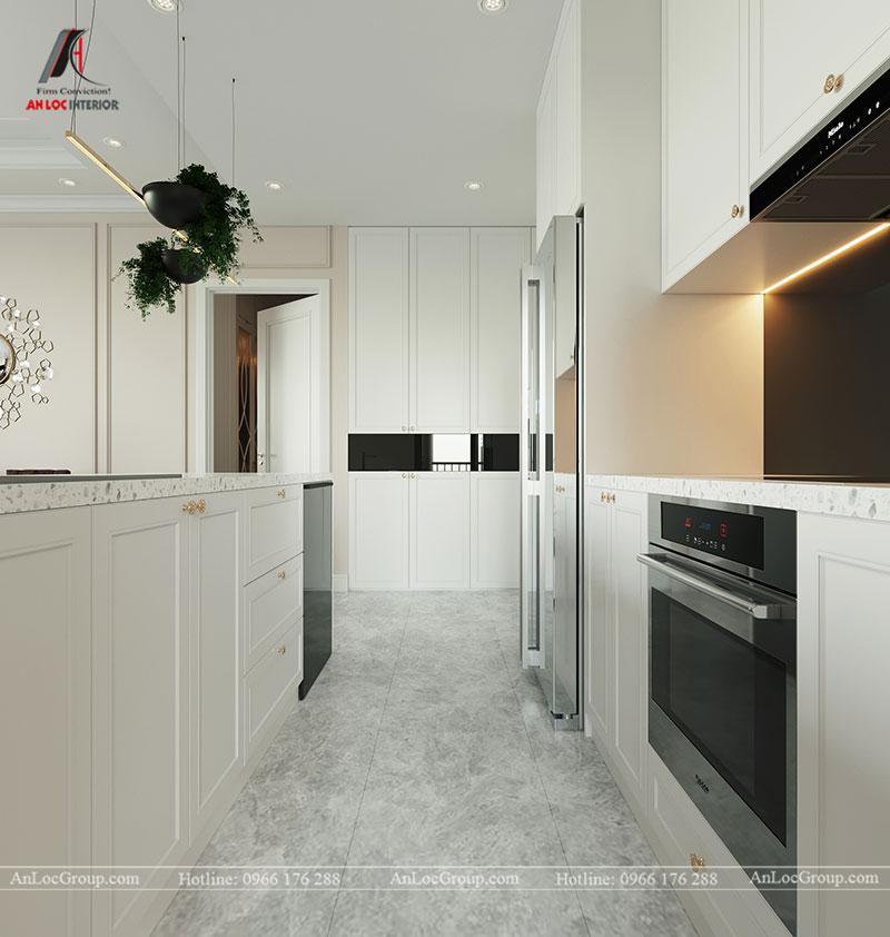 Thiết kế chung cư hiện đại 68m2 tại Madarin Garden 2 Tân Mai - Ảnh 5