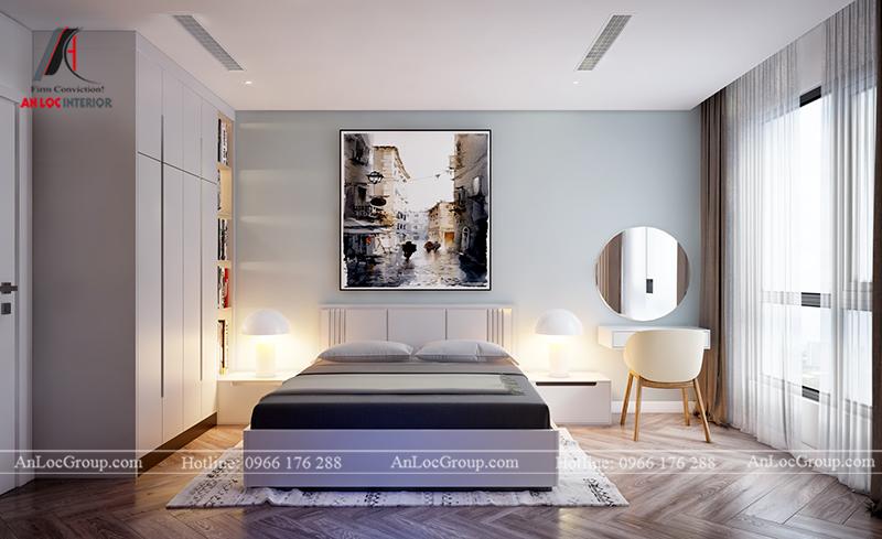 Nội thất căn hộ 80m2 tại Vinhomes Gardenia - Ảnh 18