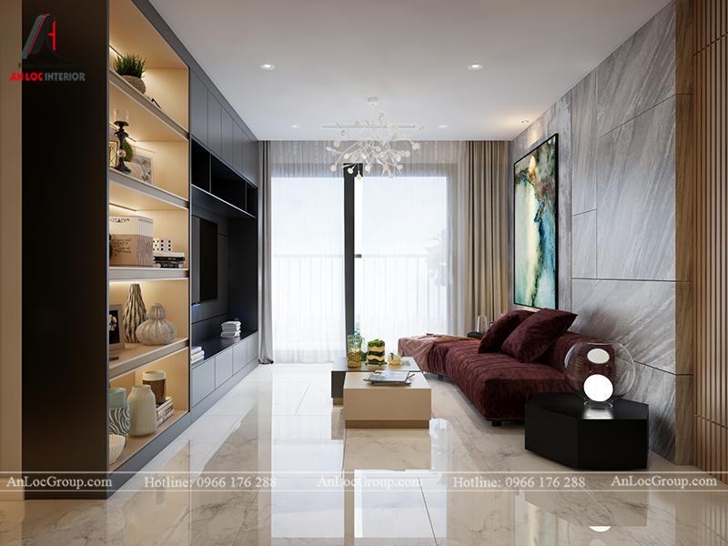 Nội thất căn hộ 80m2 tại Vinhomes Gardenia - Ảnh 2