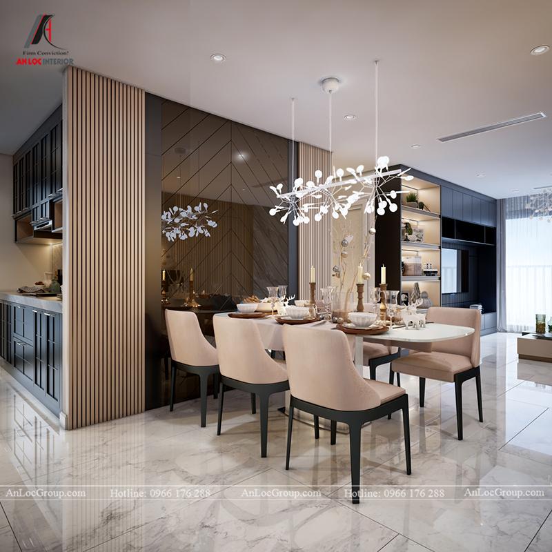 Nội thất căn hộ 80m2 tại Vinhomes Gardenia - Ảnh 3