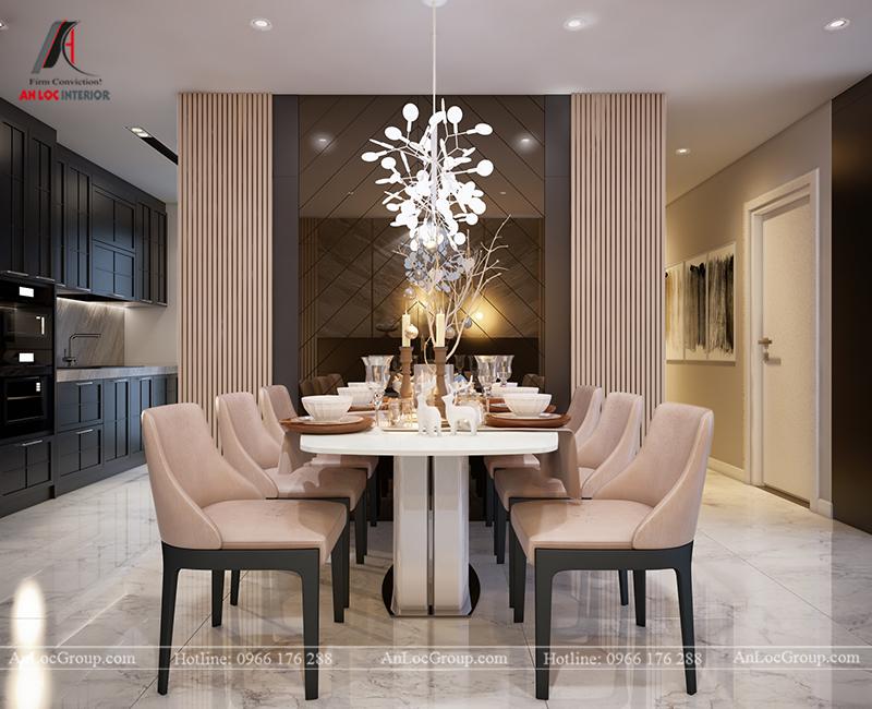 Nội thất căn hộ 80m2 tại Vinhomes Gardenia - Ảnh 4