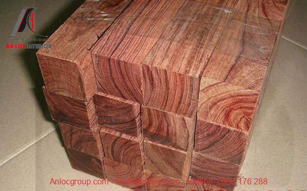 Vân gỗ nhỏ tạo vẻ đẹp đặc trưng