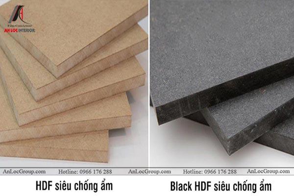 Hai loại gỗ HDF siêu chống ẩm An Cường