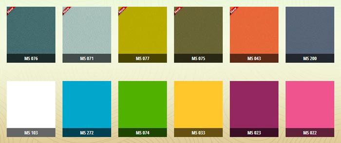 MDF màu trơn 1