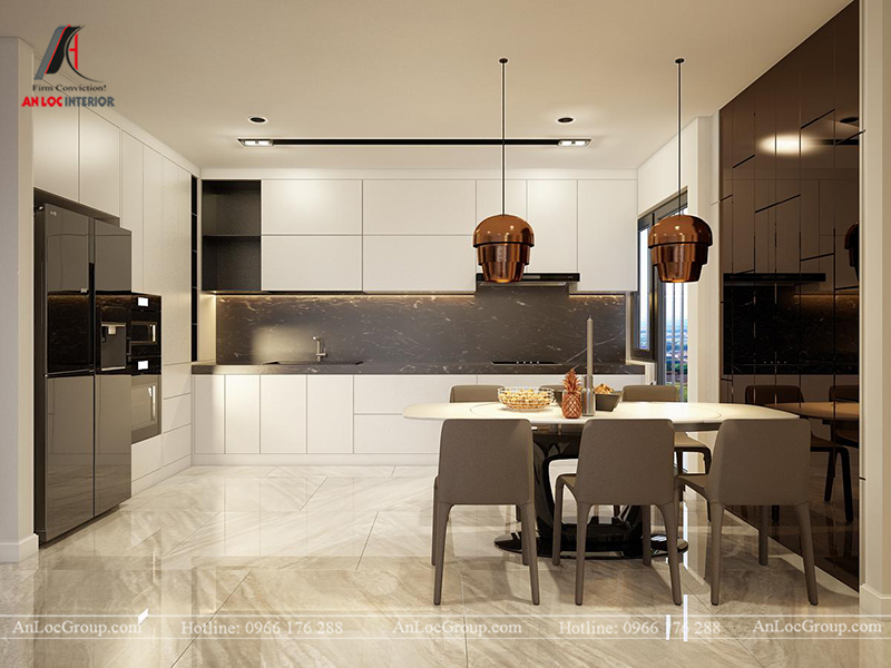 Thiết kế chung cư 120m2 tại GreenLife Linh Đàm view 6