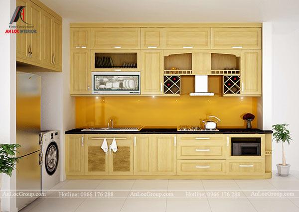Tủ bếp đẹp, hiện đại