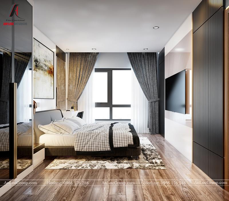Nội thất phòng ngủ master 1