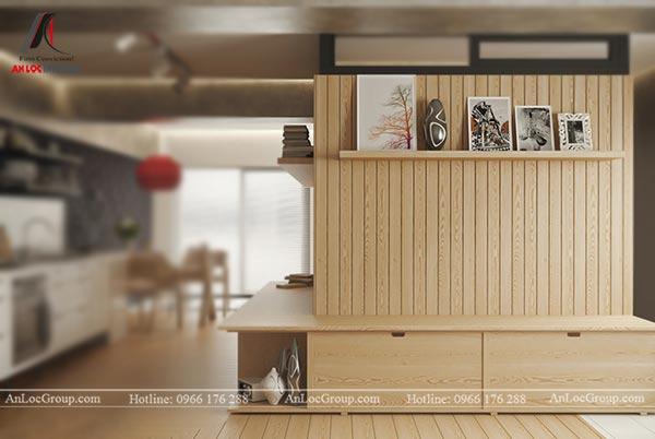 Nội thất gỗ ép công nghiệp hiện đại, sang trọng