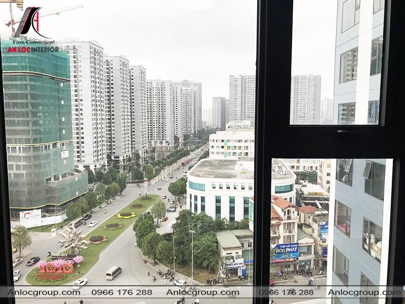 Tầm nhìn đẹp từ cửa sổ phòng ngủ master