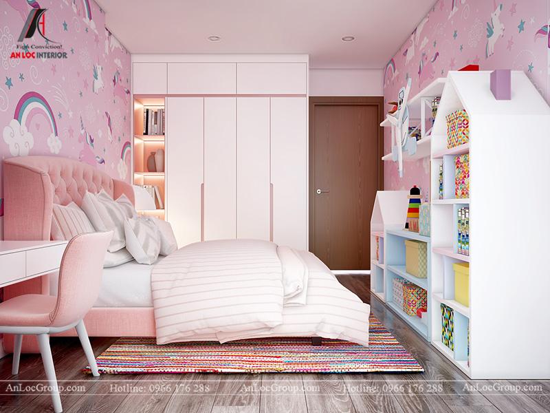 Thiết kế phòng ngủ bé gái - Ảnh 2