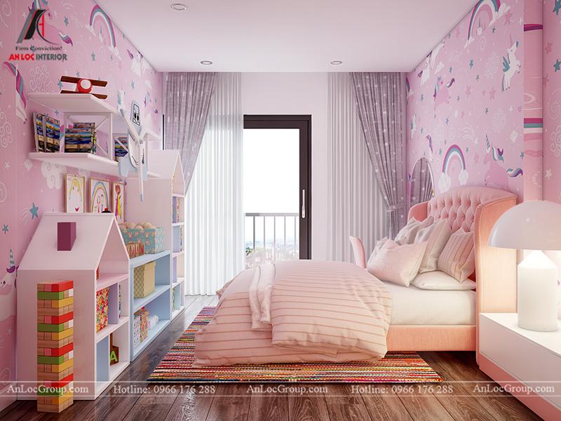 Thiết kế phòng ngủ bé gái - Ảnh 3