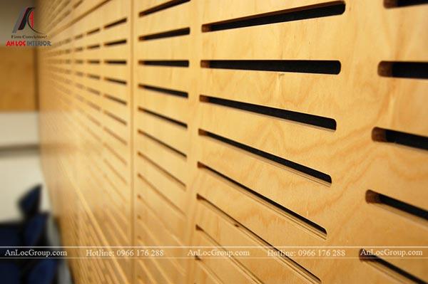Vách ngăn gỗ Plywood