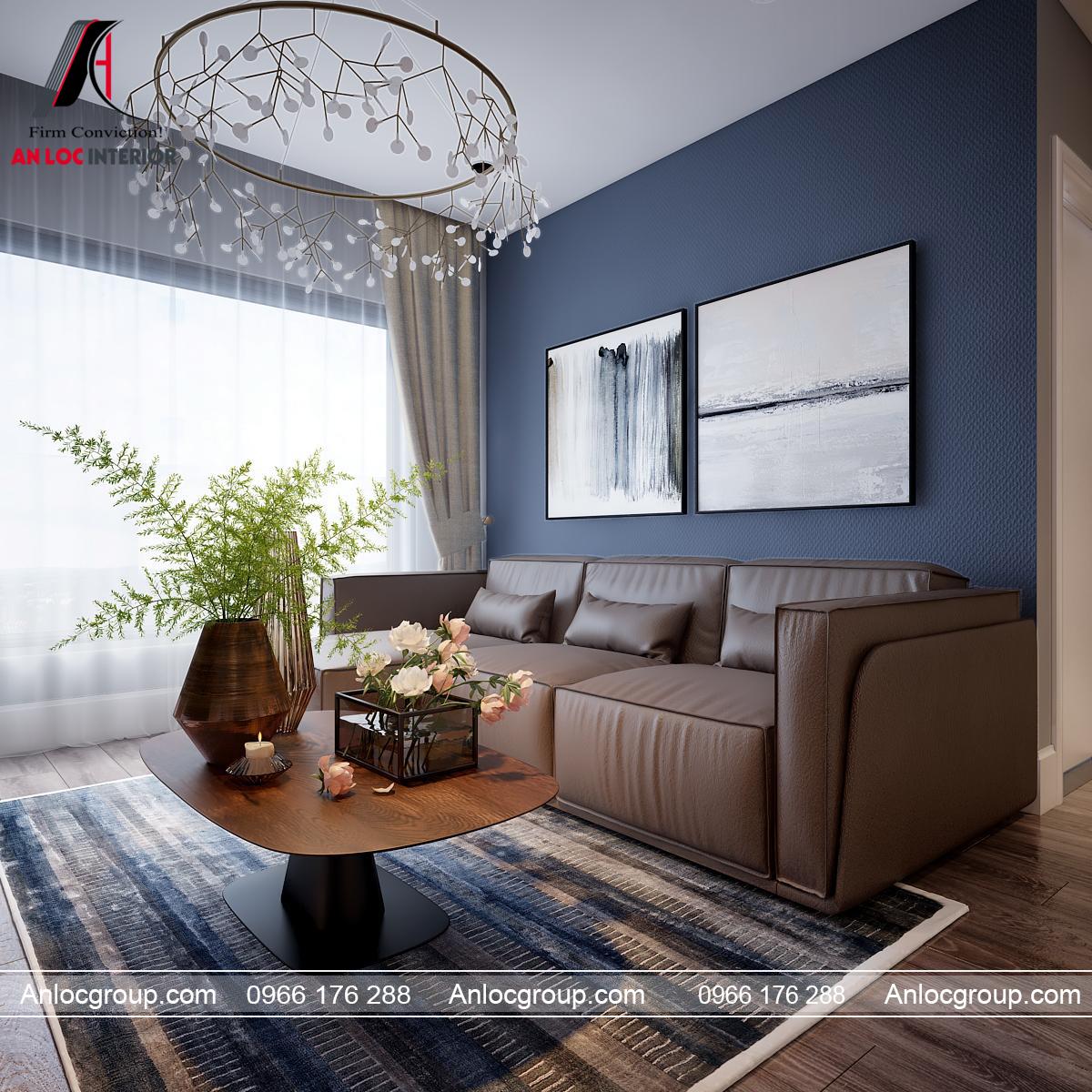 Ghế sofa hiện đại trong phòng khách