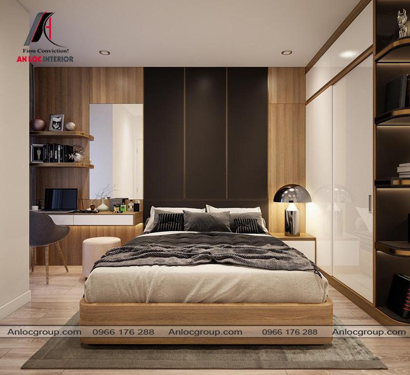 Thiết kế nội thất phòng ngủ master - Ảnh 1